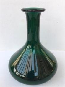 Ingenious Rare Vintage 70s Czech Prachen Art Glass Vase Josef Hospodka Glass